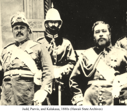 Judd, Purvis, and the Last King of Hawaii