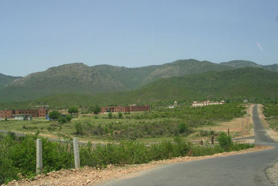 Part of Qaid-e-Azim University Campus
