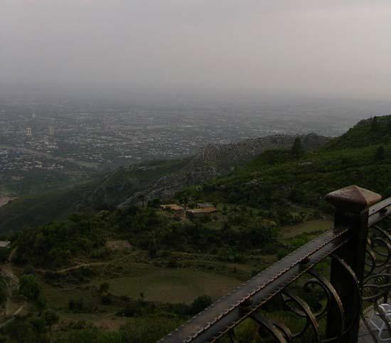 View from Pir Sohawa