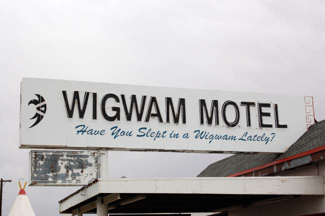 Wigwam Motel welcomes guests from around the world.