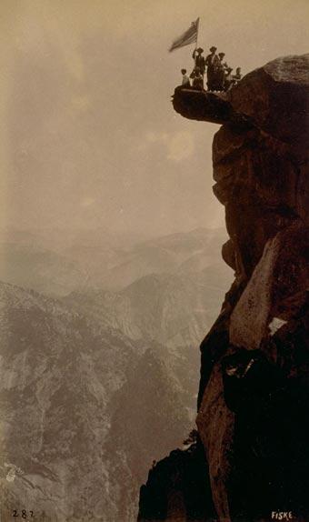 George Fiske image of Yosemite