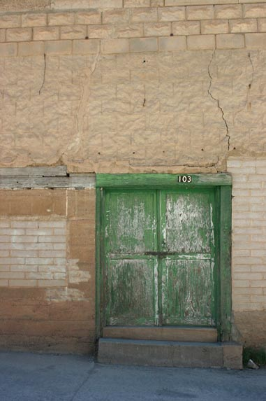 A Building in Bisbee Arizona