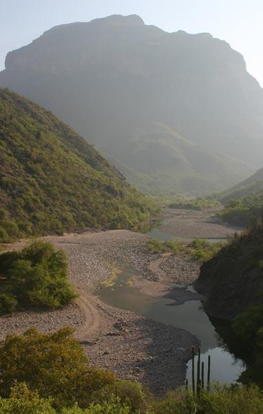 The Batopilas River