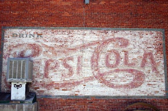 Pepsi Cola Sign in Bisbee Arizona