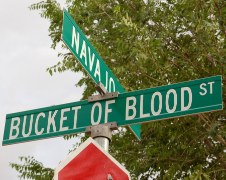 Bucket of Blood Street is the new name for the street that runs in front of the old Bucket of Blood Saloon.