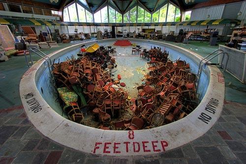 The Catskills Tamarack Lodge Pool