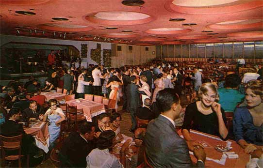 The Grossinger Pink Elephant Lounge in its Hey-day