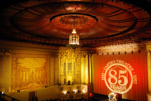 Interior of Castro Theatre image by Katie Spence [cc, 2.0]