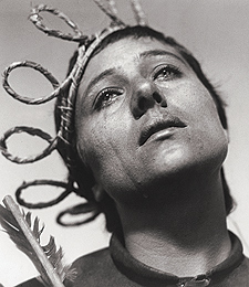 Falconetti as Joan of Arc