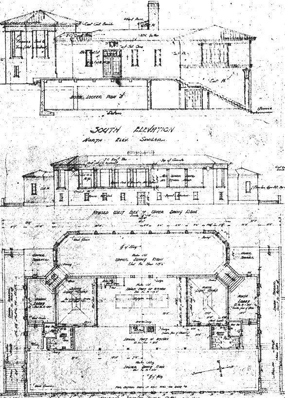 Fleishacker Bath House Plans