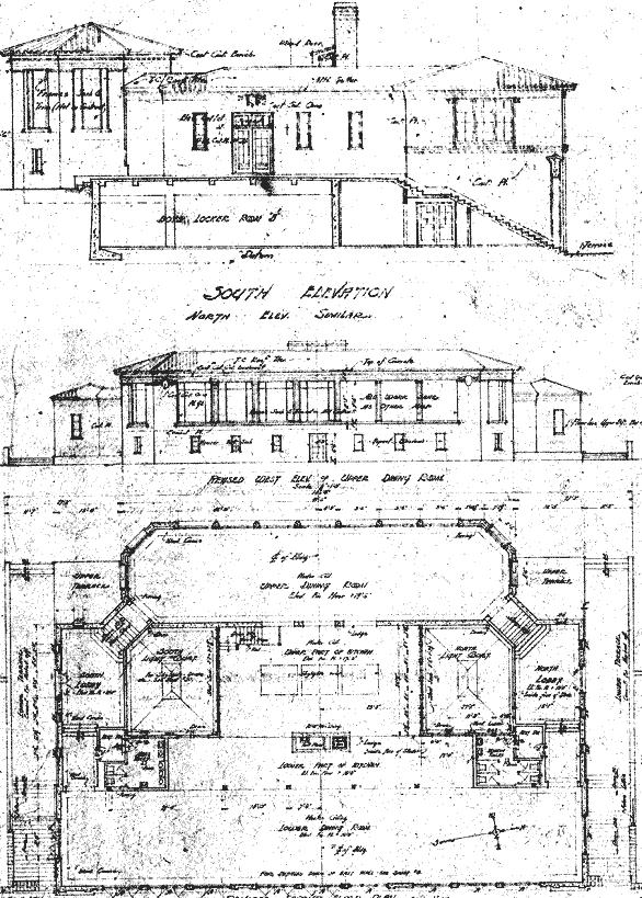 Fleishacker Bath House Plans
