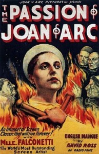 Movie Poster Passion of Joan of Arc