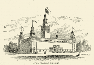 Cold Storage Building - Columbian Exposition in Chicago