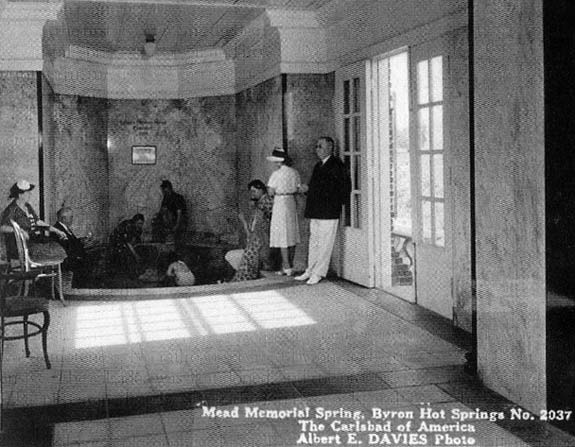 "Memorial ""Mead"" Room at Byron - Now Demolished"