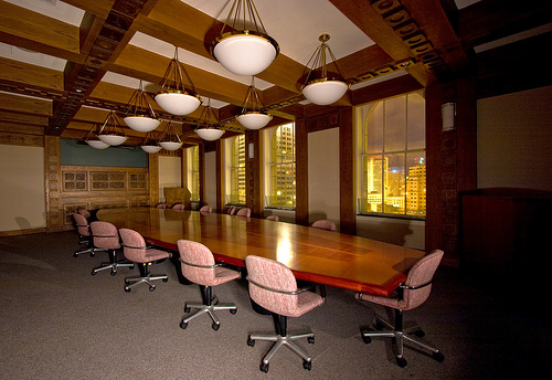 Pacific Telephone Buildin Board Room
