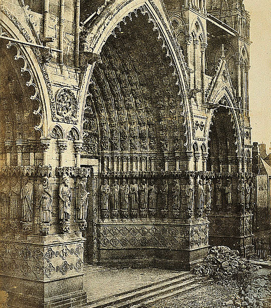 A Church in France by Hippolyte Bayard.