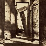 The ruins of Karnak, by Gustave Le Gray, while he was exiled in Karnak.
