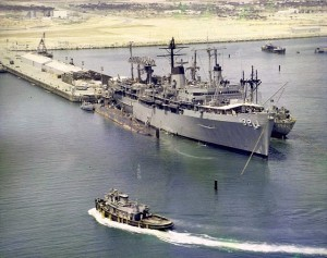 The U.S.S. Holland in Spain - Courtesy USSHolland.org, via Amy Heiden.