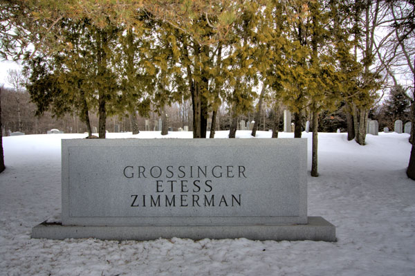 Grossinger Graves