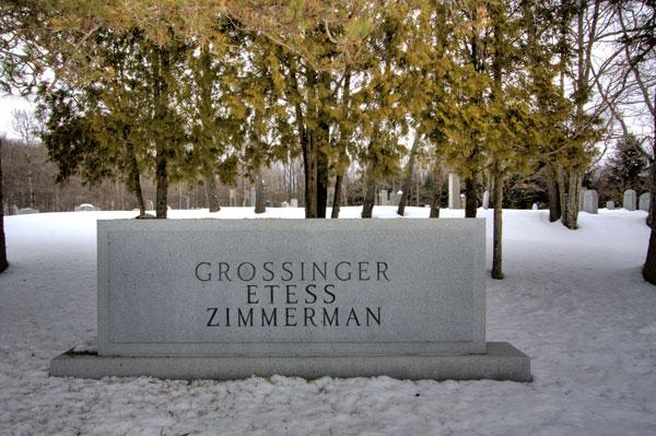 Grossinger Graves