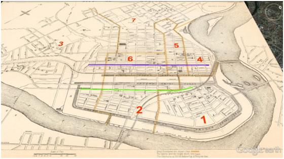 Springfield Ward Map Images